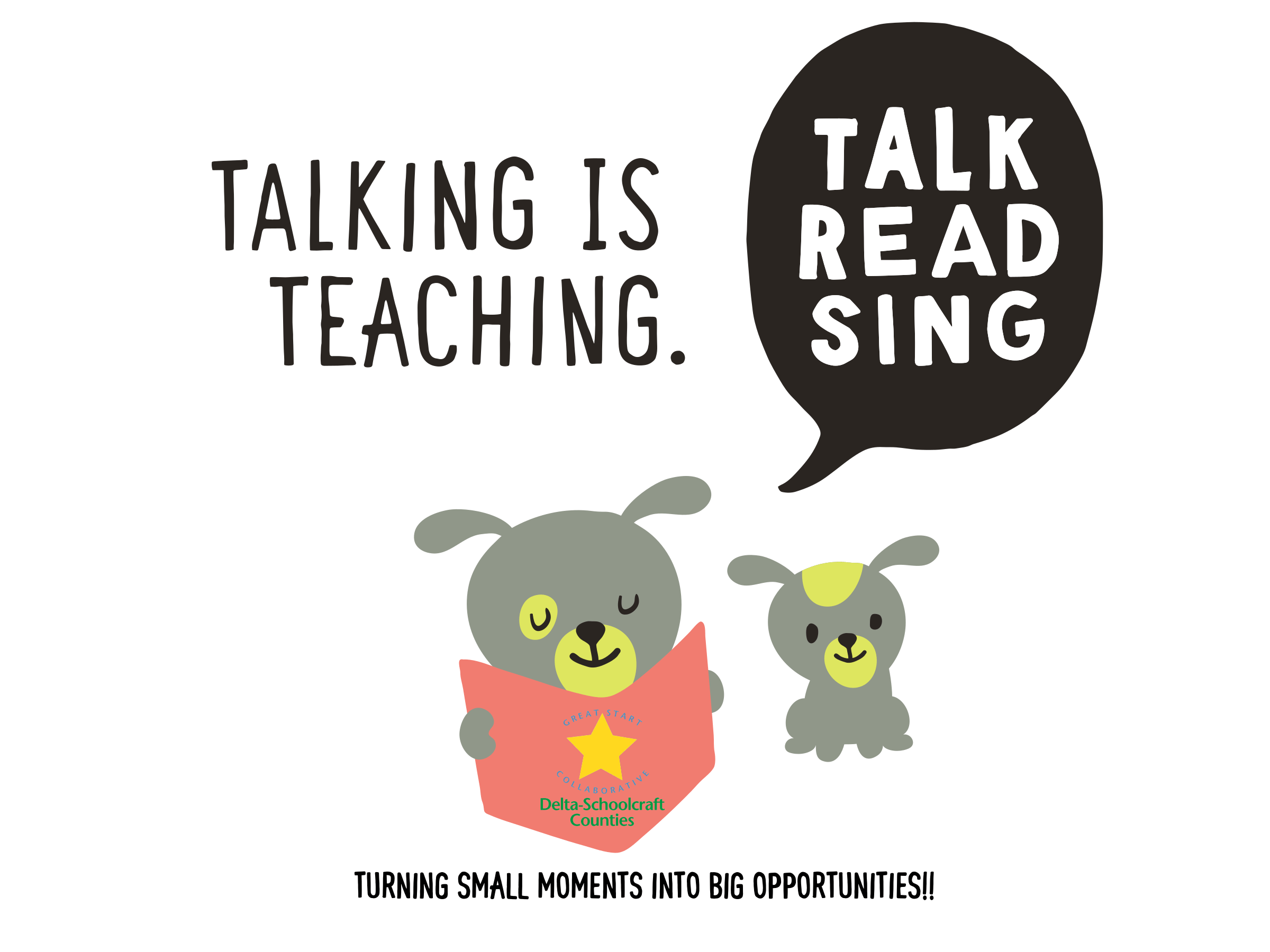Talking Is Teaching: Turning small moments into big opportunities